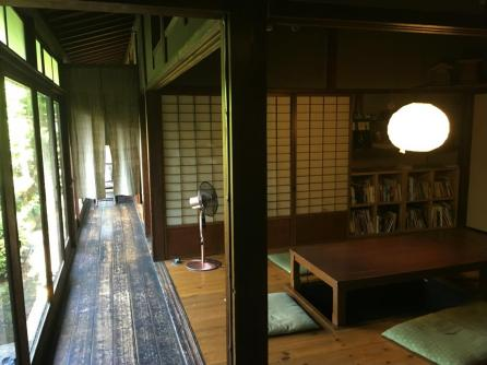 the backpacker I stayed in ... awesome old japanese house