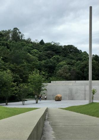 Entrance to Lee Ufan Museum