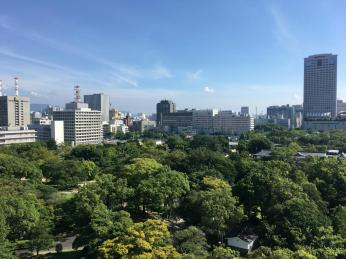 Outlook from the Castle to Hiroshima City