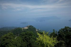 Outlook from Mt. Misen