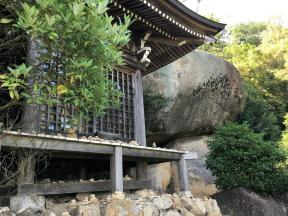 some shrines on the way to the top