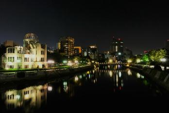 Hiroshima by night
