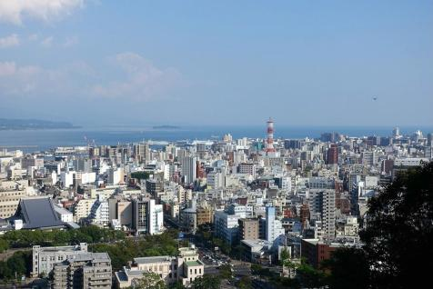 Kagoshima from the viewpoint