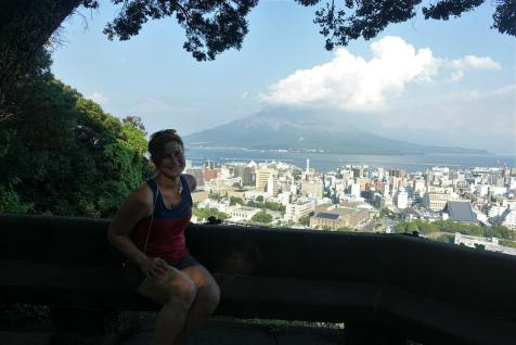 Sakurajima out of another perspective
