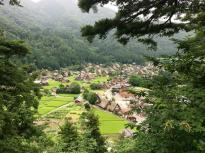 Shirakawa-gô from the view point