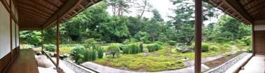The view from the Tea House into the garden - awesome!