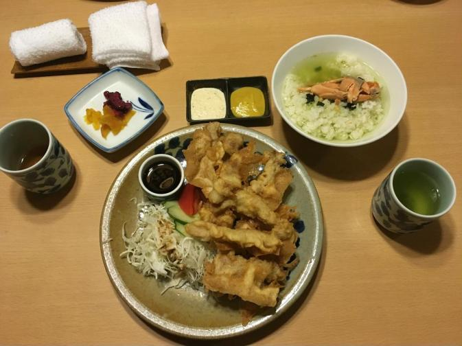 Great dinner in Beppu - Thanks a lot Nomuka