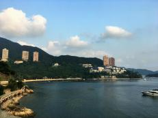 Way home from the Beach on Hong Kong Island