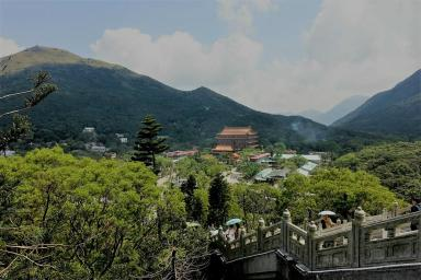 Outlook from Big Buddha