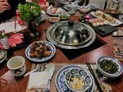 Hot Pot with Expo Girls