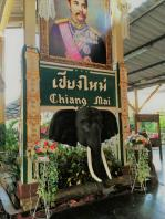 arriving @ chiang mai railway station