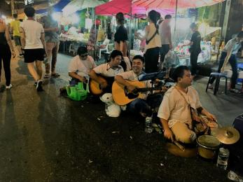 music entertainment @ sunday night market