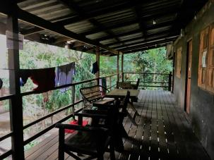 where we slept - was a nice place just next to the elephant shelter