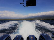 on the way to Gili