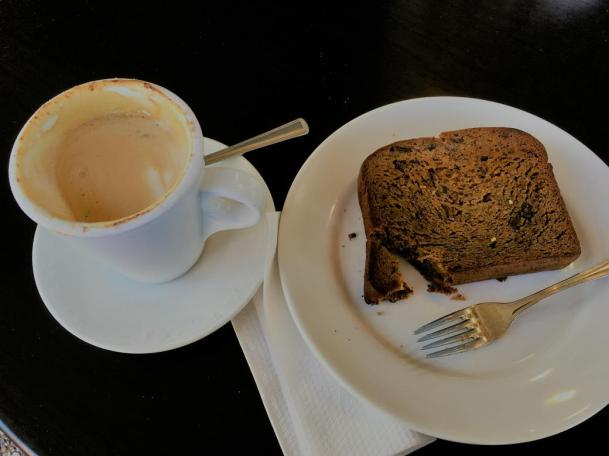 Banana Bread and Coffee