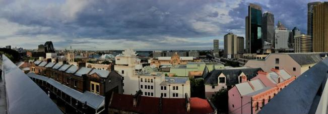 Outlook from the Rooftop of the Hostel