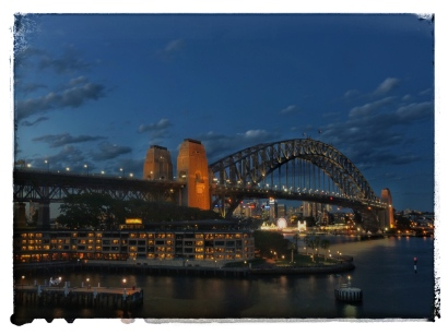 Sydney Harbor Bridge @ Night