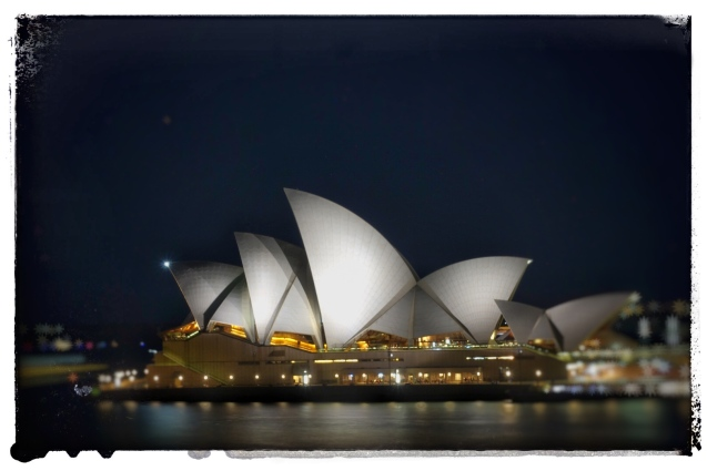 Opera House @ Night