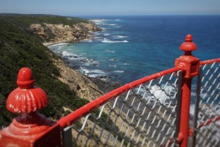 Outlook from the lighthouse @ Cape Otway