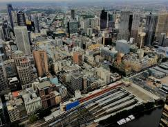 Melbourne from the top