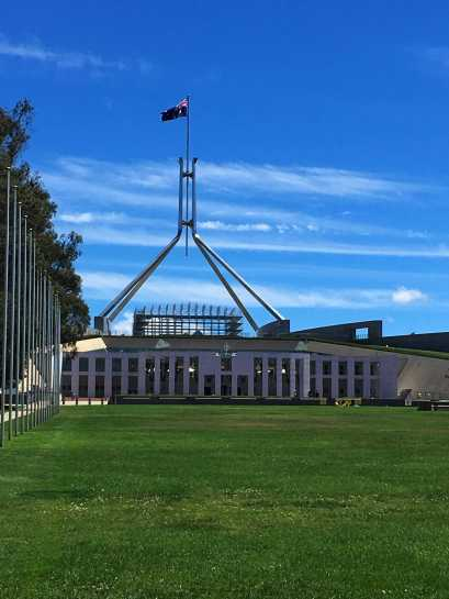Parliament House - Capital Hill