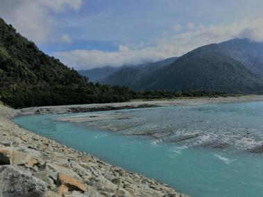 on the way to franz josef